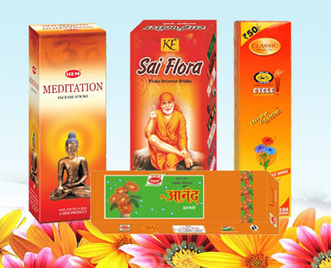 Indian Agarbattis / Dhoops / Incense Sticks Supplier Democratic Republic of Congo